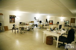 Our Work Area (The Bunker)